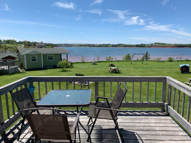 Cottage 9 deck view
